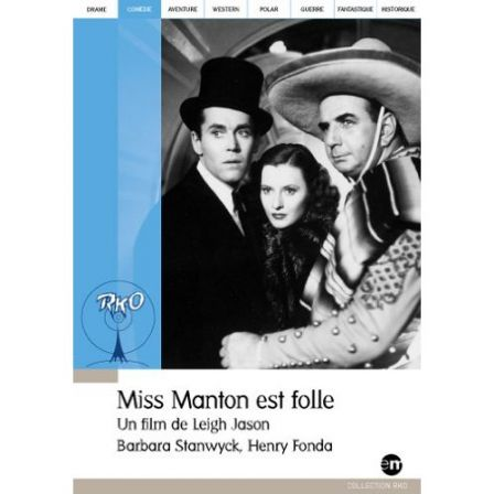 DVD Miss Manton est folle