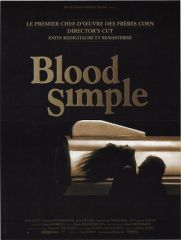 blood simple affiche
