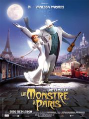 un monstre à paris affiche