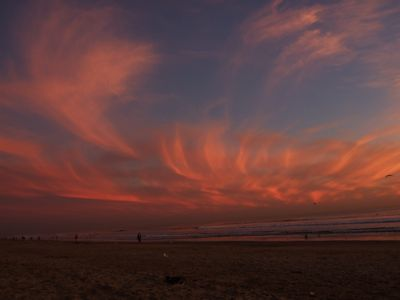 Huntington Beach coucher soleil 2