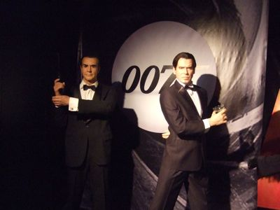 Wax Museum James Bond