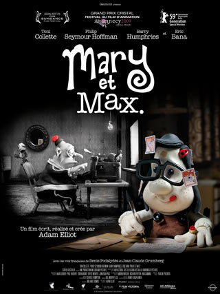 Mary et Max affiche