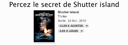 itunes Shutter Island